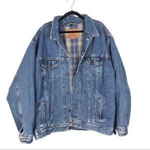LEVIS vintage flannel lined jean jacket